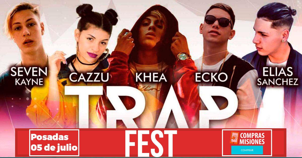 Llega a Posadas el festival de música trap más grande del país…Las entradas las vas a adquirir en Compras Misiones