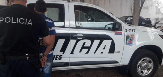"""""""Vigilaba"""" casas en Posadas y terminó detenido"""