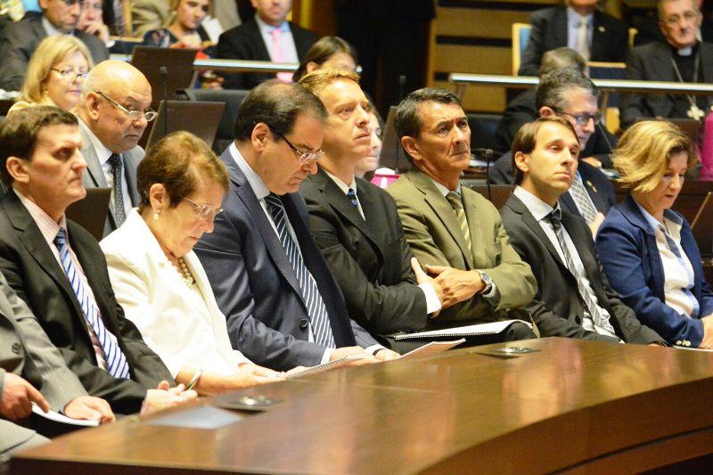 Passalacqua en la Legislatura: El Gobernador destacó el trabajo de Desarrollo Social en materia de asistencia a los más necesitados