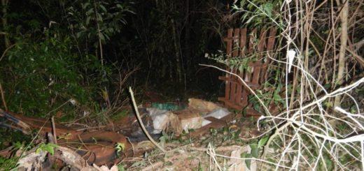 Campo Grande: esconden un cargamento de marihuana en un basural