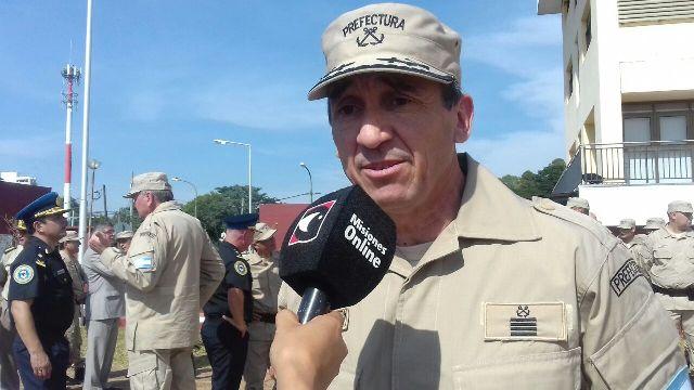 Armando Luis Ojeda es el nuevo jefe de la Prefectura de Zona Alto Paraná
