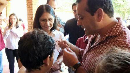 El vicegobernador Oscar Herrera Ahuad anunció obras para el municipio de San Pedro