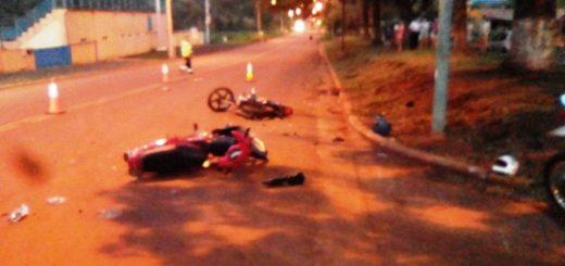 Accidente de Tránsito dejó lesionados en Puerto Piray