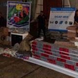 Contrabando: Prefectura secuestró 1450 cartones de cigarrillos extranjeros valuados en 945 mil pesos