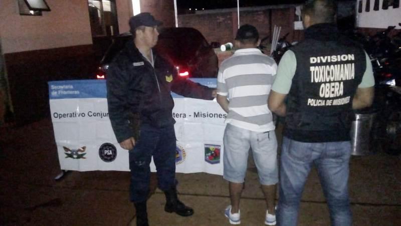 En 24 horas la Policía detuvo a seis «Dealers» e incautó casi 600 gramos de cocaína en Posadas y Oberá