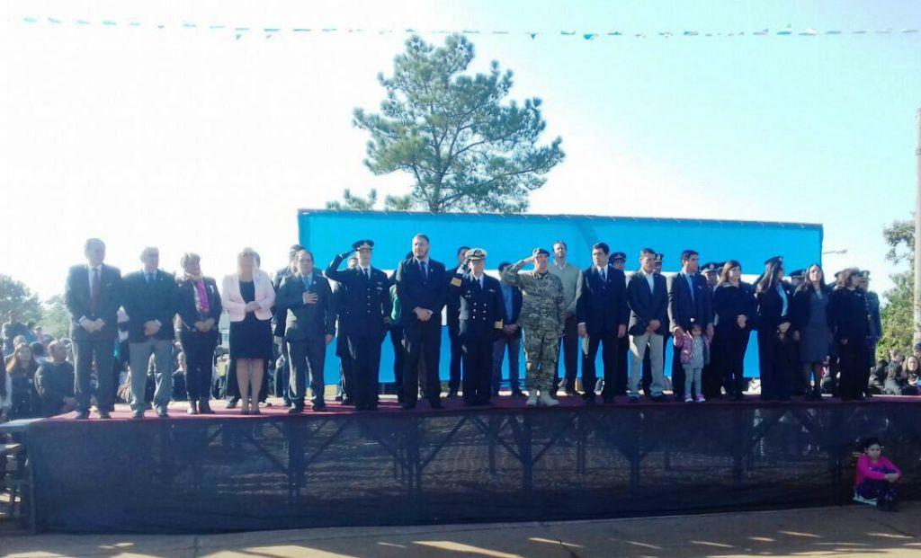 Se realizó el acto por el Día de la Patria en Posadas