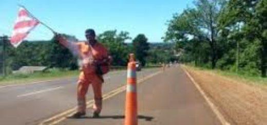 Está restringida la circulación de vehículos en el puente sobre el Arroyo Cuña Pirú I en la ruta provincial 7