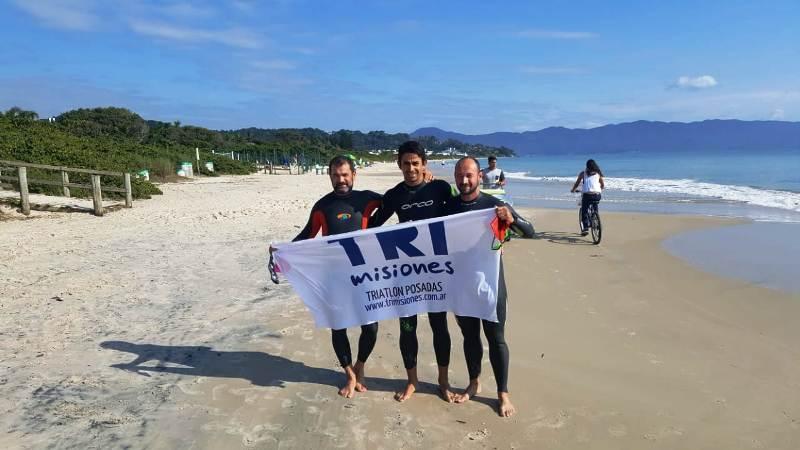 Tres misioneros en el Ironman de Florianópolis, el más difícil del mundo