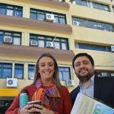 Passalacqua felicitó a Franco Selleski, el misionero que logró una beca para estudiar en el Instituto Balseiro