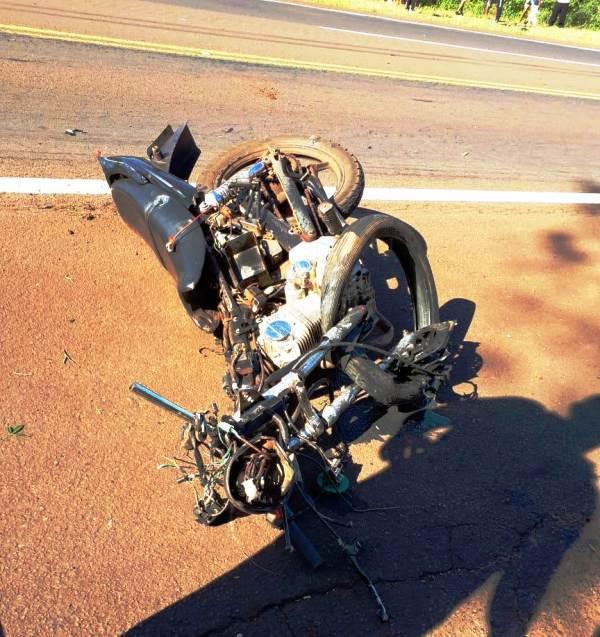 Un motociclista murió en un accidente ocurrido esta mañana sobre la ruta 12