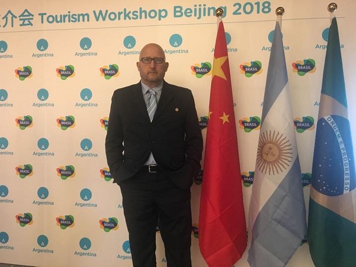 A un mes del Mundial, las Cataratas del Iguazú unieron a Argentina y Brasil en una inédita promoción Turística en China