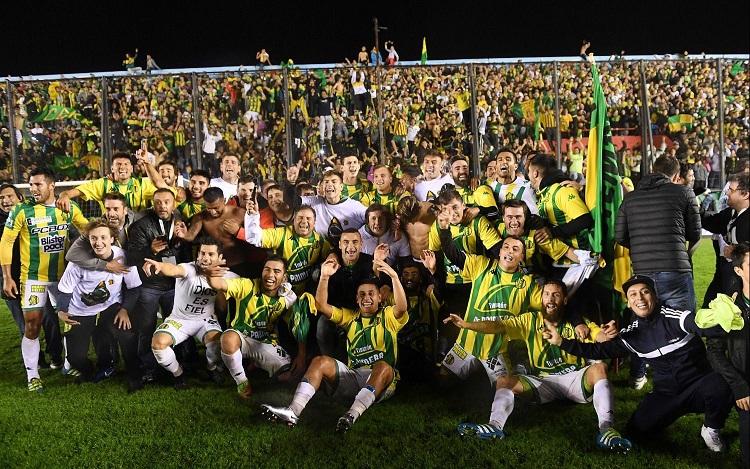Fútbol: Aldosivi de Mar del Plata volvió a Primera