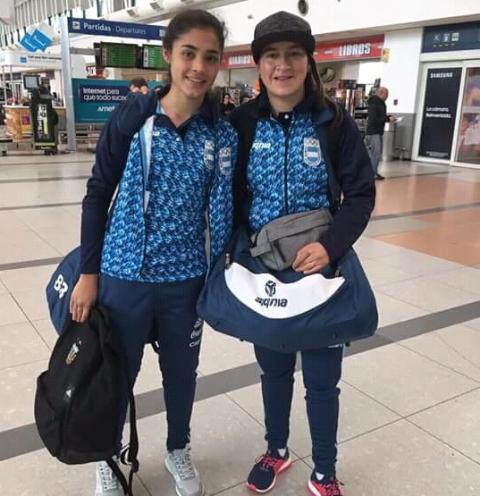 Fútbol femenino: con las misioneras Yamila Rodríguez y Milagros Otazú, la Selección Argentina ya se instaló en Bolivia para los Juegos Odesur