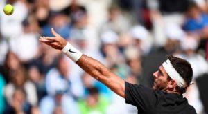Tenis: Del Potro debutó con una victoria en el Masters 1000 de Roma
