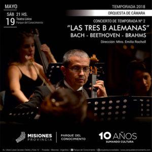 Música clásica: Beethoven Brams y Bach en un Concierto gratuito en el Teatro Lírico