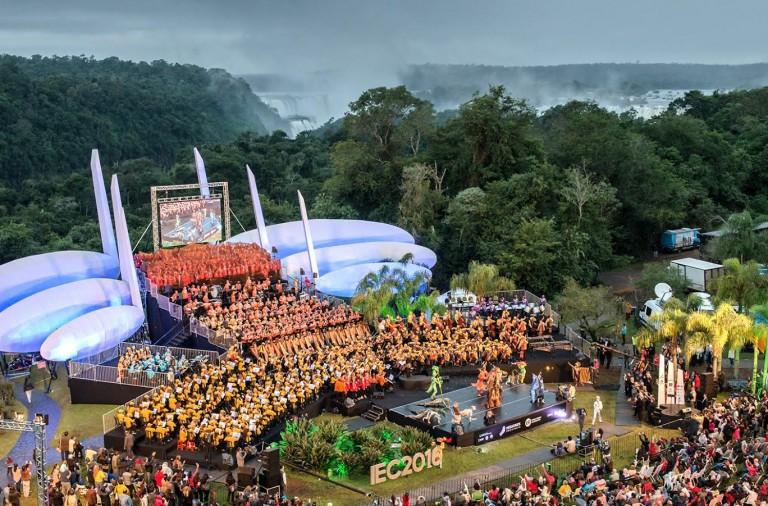 Desde las 17 se realiza el cierre del Iguazú en Concierto