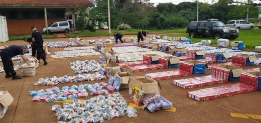 La PSA decomisó contrabando por más de un millón de pesos en Iguazú