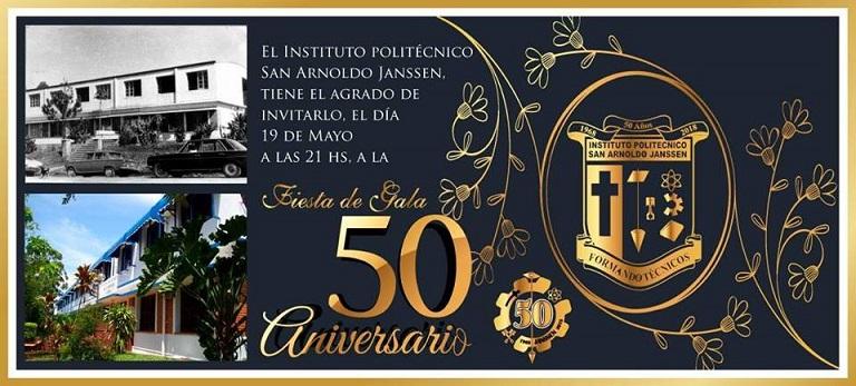 El Instituto Politécnico San Arnoldo Janssen festejará hoy con la comunidad sus 50 años