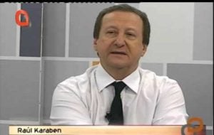 Para Raúl Karaben, buscar la protección del FMI no es una mala decisión