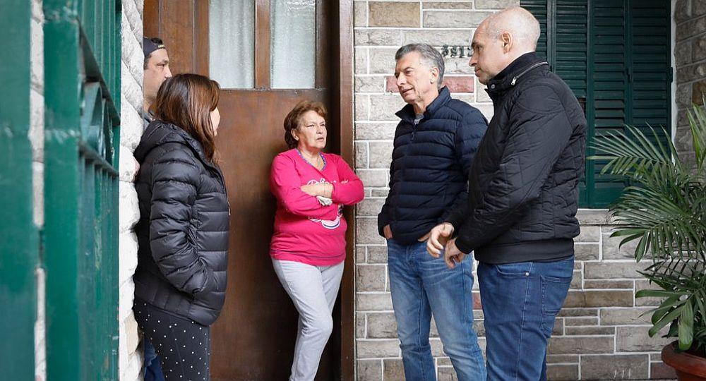 Luego de la tensión por la corrida cambiaria y la vuelta al FMI, Macri encabezó timbreo de Cambiemos