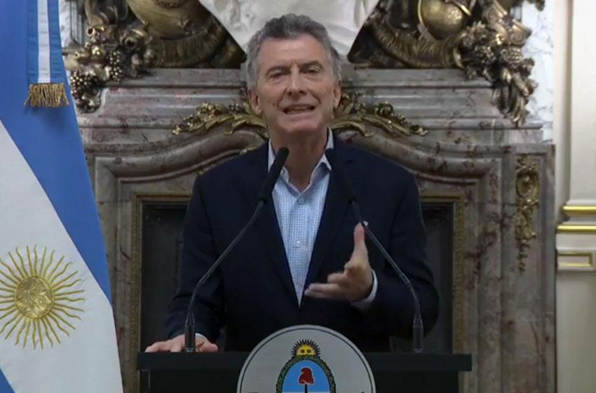 «Estamos poniendo la verdad sobre la mesa», afirmó Macri
