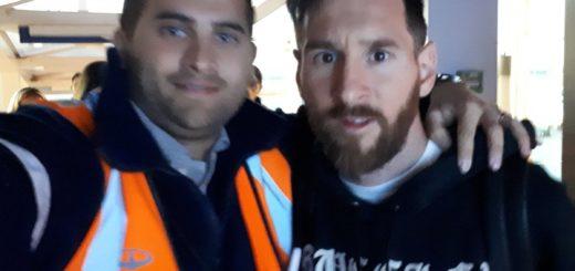#Mundial2018: Llegó Messi al país para integrarse a los entrenamientos de la Selección