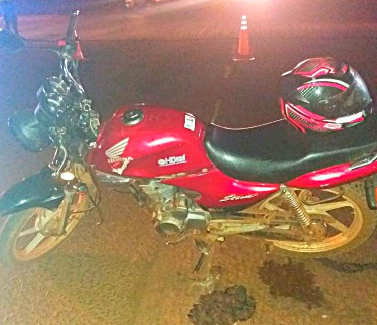 Se despistó una moto con dos ocupantes en Wanda: ambos sufrieron heridas graves