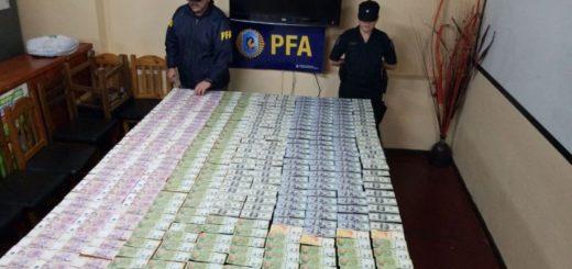 La Policía Federal detuvo a un hombre por contrabando y presunto lavado de dinero en Posadas