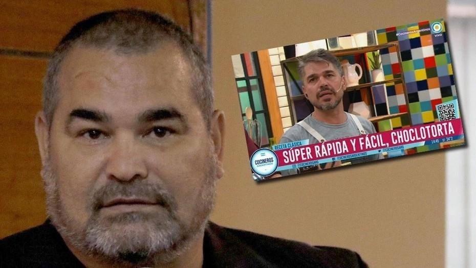Estalló José Luis Chilavert contra «Cocineros Argentinos» por la receta de la «choclotorta»