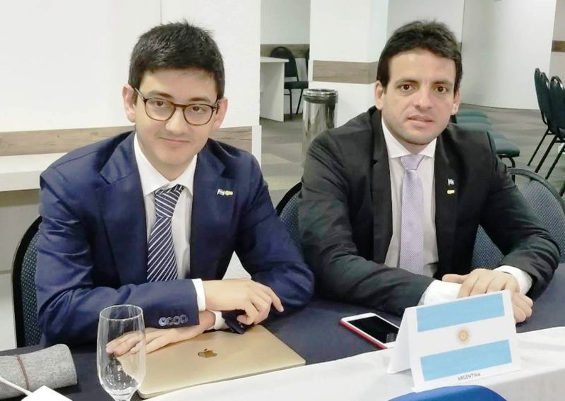 Un misionero en el G-20 Joven