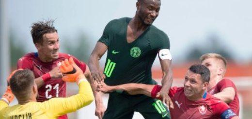 #Mundial2018: Nigeria volvió a mostrar un flojo nivel y no pudo con República Checa, que no va al Mundial