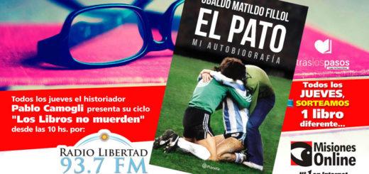 """""""Los libros no muerden"""": El concurso por un ejemplar de """"El Pato"""", la autobiografía del arquero Fillol, lo ganó…"""
