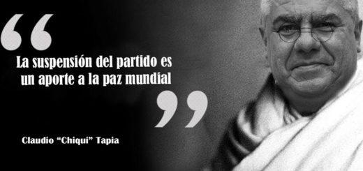 """Los memes y las cargadas """"por la paz mundial"""" de Claudio Chiqui Tapia"""