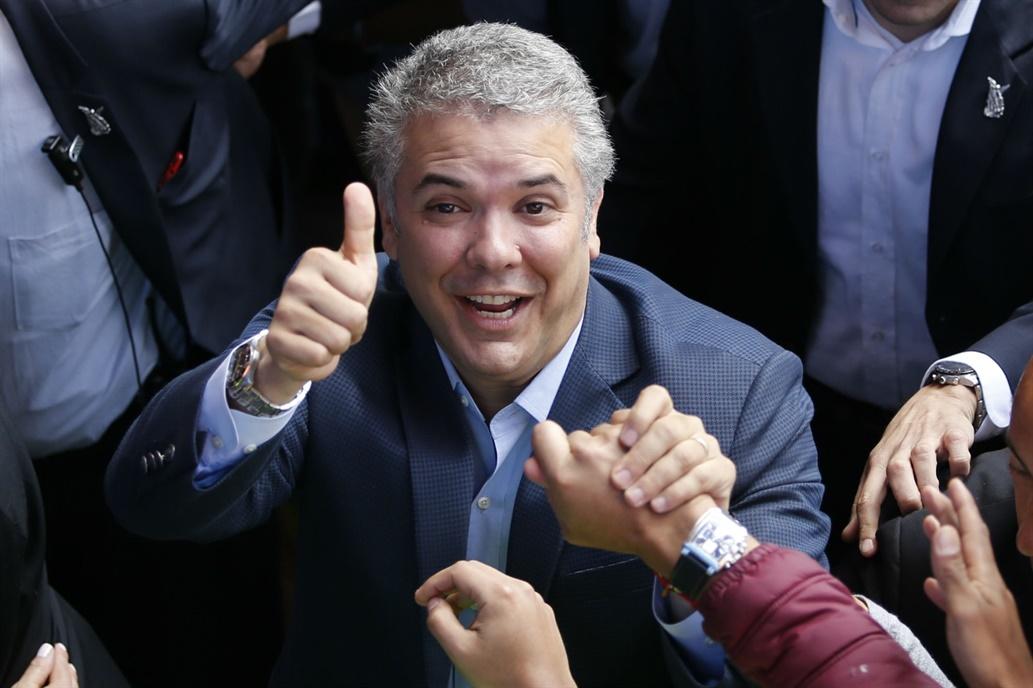 Elecciones en Colombia: Iván Duque se impuso en segunda vuelta por amplia diferencia y es el nuevo presidente