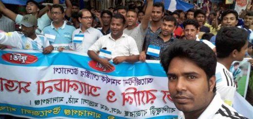 #Mundial2018: Por qué Bangladesh enloqueció con el triunfo de Argentina a Nigeria
