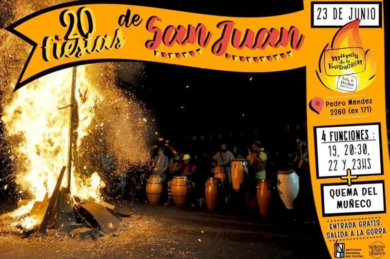 Posadas: este sábado la víspera de San Juan se festeja con la Murga de la Estación