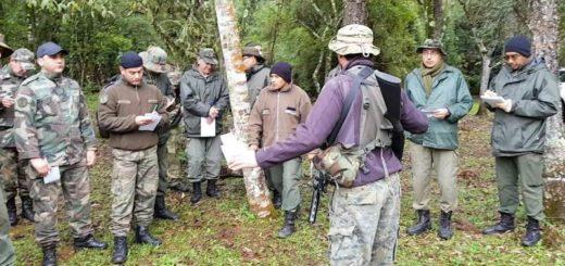 Compañía de Cazadores de Monte del Ejército Argentino capacitó a guardaparques del Ministerio de Ecología