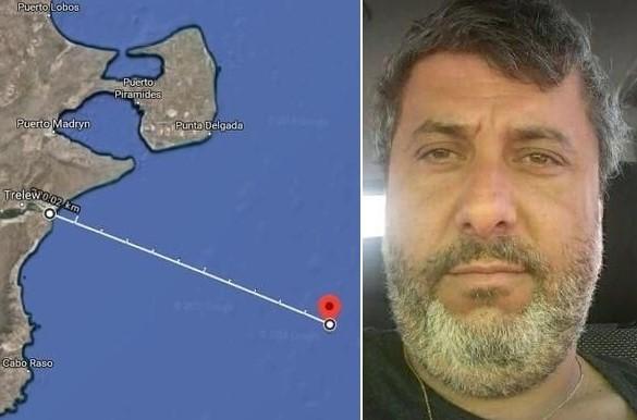 Pesquero desaparecido en las costas de Chubut: el cuerpo hallado era del capitán