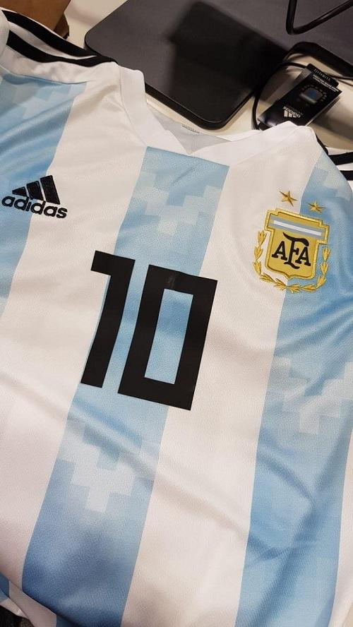 #Mundial2018: Mirá cómo es la camiseta que lucirá Messi en Rusia