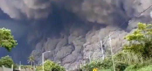 Volcán de Fuego: los videos más increíbles de la erupción en Guatemala