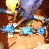 Samsa realiza tareas de mantenimiento y recomiendan cuidar el agua