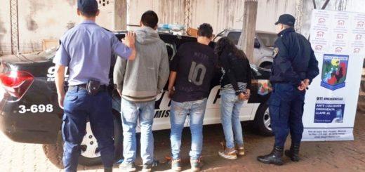 Infraganti: la Policía atrapó a tres jóvenes cuando intentaban robar un auto en Posadas
