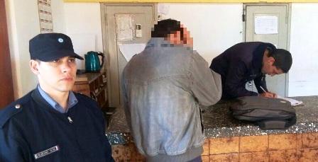 Otra vez «Catriel» detenido e investigado por un robo en Alem