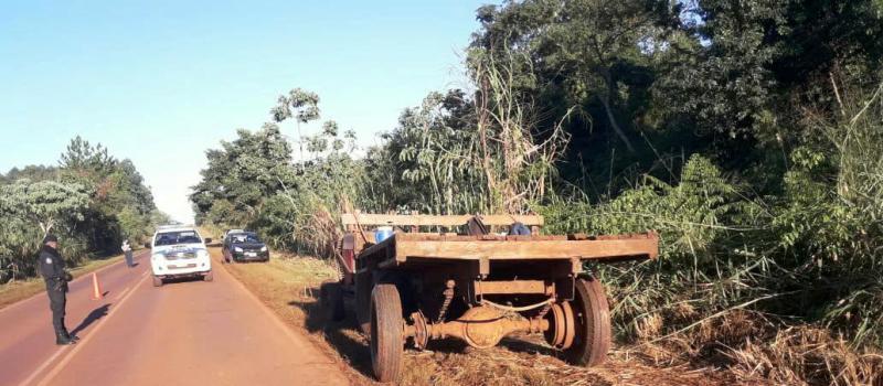 Andresito: un joven falleció en siniestro vial tras chocar contra un tractor en ruta 19