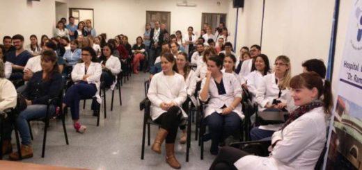 Hoy iniciaron sus actividades los nuevos residentes médicos en los diferentes Hospitales de Misiones