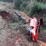 Un fallecido tras un vuelco en autovía en Candelaria