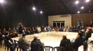 """Arauco se comprometió con la comunidad de Puerto Esperanza a promover una gestión de """"valores compartidos y comunicación constructiva"""""""