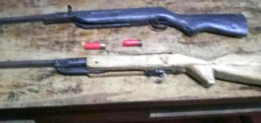 Una mujer armada con escopetas ahuyentaba animales y amenazó a vecinos en Cerro Corá
