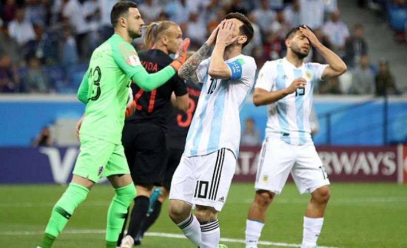 #Mundial2018: Croacia goleó a Argentina y lo dejó al borde de la eliminación