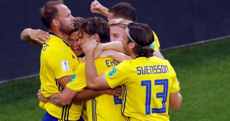 #Mundial2018: Suecia le ganó a México por 3-0 y las dos selecciones clasificaron a octavos